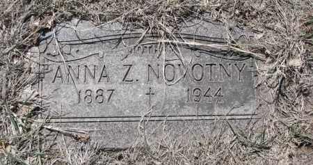 NOVOTNY, ANNA Z. - Bon Homme County, South Dakota   ANNA Z. NOVOTNY - South Dakota Gravestone Photos