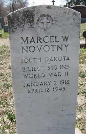 NOVOTNY, MARCEL W. - Bon Homme County, South Dakota   MARCEL W. NOVOTNY - South Dakota Gravestone Photos