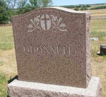 O'DONNELL, PLOT STONE - Bon Homme County, South Dakota   PLOT STONE O'DONNELL - South Dakota Gravestone Photos