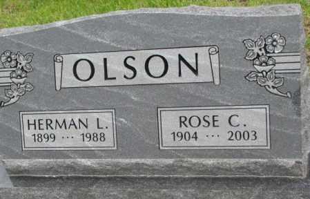 OLSON, ROSE C. - Bon Homme County, South Dakota | ROSE C. OLSON - South Dakota Gravestone Photos