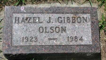 OLSON, HAZEL J. - Bon Homme County, South Dakota   HAZEL J. OLSON - South Dakota Gravestone Photos