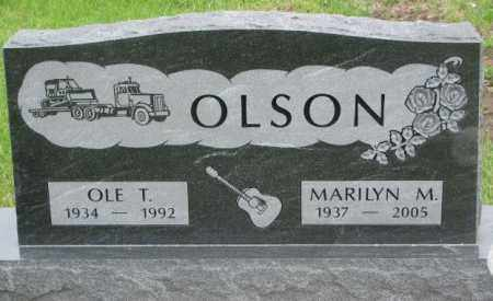 OLSON, MARILYN M. - Bon Homme County, South Dakota   MARILYN M. OLSON - South Dakota Gravestone Photos