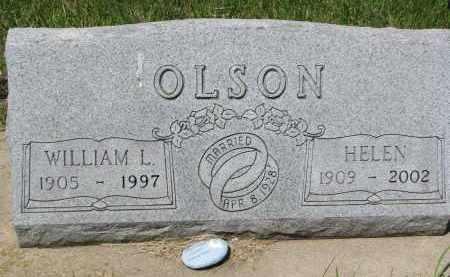 OLSON, WILLIAM L. - Bon Homme County, South Dakota | WILLIAM L. OLSON - South Dakota Gravestone Photos