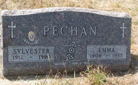 PECHAN, EMMA - Bon Homme County, South Dakota | EMMA PECHAN - South Dakota Gravestone Photos