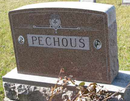 PECHOUS, FAMILY STONE - Bon Homme County, South Dakota | FAMILY STONE PECHOUS - South Dakota Gravestone Photos