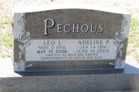 PECHOUS, ADELINE P. - Bon Homme County, South Dakota   ADELINE P. PECHOUS - South Dakota Gravestone Photos