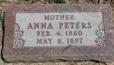 BUCHOLZ PETERS, ANNA - Bon Homme County, South Dakota | ANNA BUCHOLZ PETERS - South Dakota Gravestone Photos