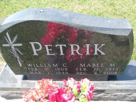 PETRIK, WILLIAM C. - Bon Homme County, South Dakota | WILLIAM C. PETRIK - South Dakota Gravestone Photos