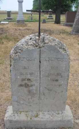 POST, G.F. - Bon Homme County, South Dakota | G.F. POST - South Dakota Gravestone Photos