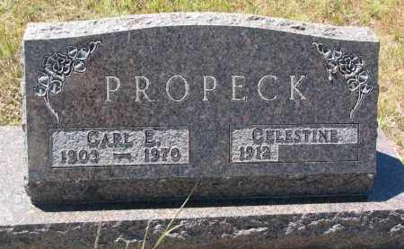 PROPECK, CELESTINE - Bon Homme County, South Dakota | CELESTINE PROPECK - South Dakota Gravestone Photos