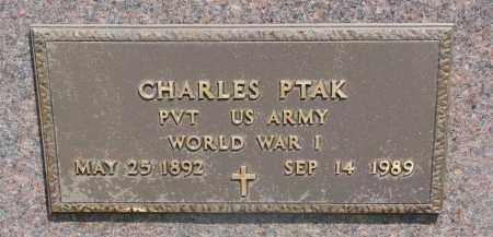 PTAK, CHARLES (WW I) - Bon Homme County, South Dakota | CHARLES (WW I) PTAK - South Dakota Gravestone Photos