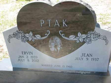 PTAK, ERVIN - Bon Homme County, South Dakota   ERVIN PTAK - South Dakota Gravestone Photos