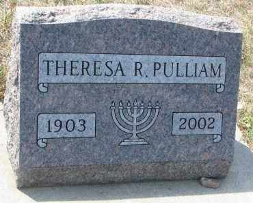 PULLIAM, THERESA R. - Bon Homme County, South Dakota | THERESA R. PULLIAM - South Dakota Gravestone Photos