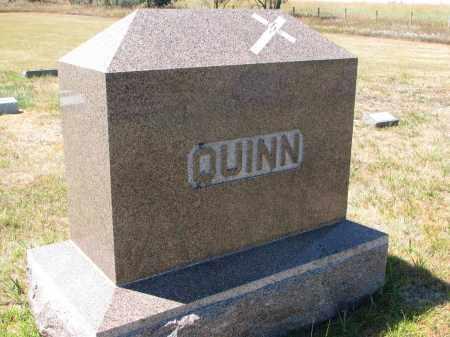 QUINN, PLOT STONE - Bon Homme County, South Dakota | PLOT STONE QUINN - South Dakota Gravestone Photos
