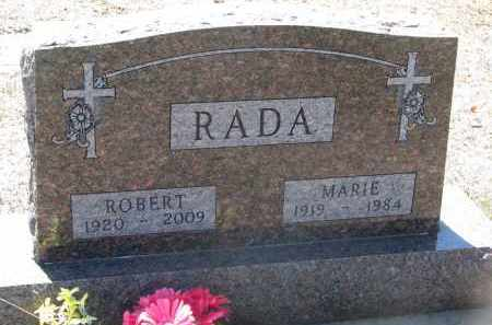 RADA, MARIE - Bon Homme County, South Dakota | MARIE RADA - South Dakota Gravestone Photos