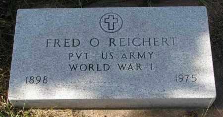 REICHERT, FRED O. (WW I) - Bon Homme County, South Dakota   FRED O. (WW I) REICHERT - South Dakota Gravestone Photos