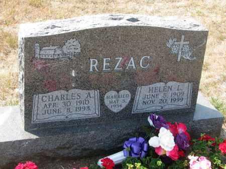 REZAC, CHARLES A. - Bon Homme County, South Dakota | CHARLES A. REZAC - South Dakota Gravestone Photos