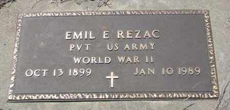 REZAC, EMIL E. (WW II) - Bon Homme County, South Dakota | EMIL E. (WW II) REZAC - South Dakota Gravestone Photos