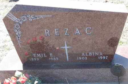 REZAC, EMIL E. - Bon Homme County, South Dakota | EMIL E. REZAC - South Dakota Gravestone Photos