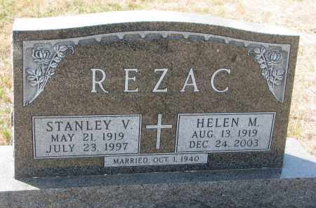 REZAC, STANLEY V. - Bon Homme County, South Dakota | STANLEY V. REZAC - South Dakota Gravestone Photos