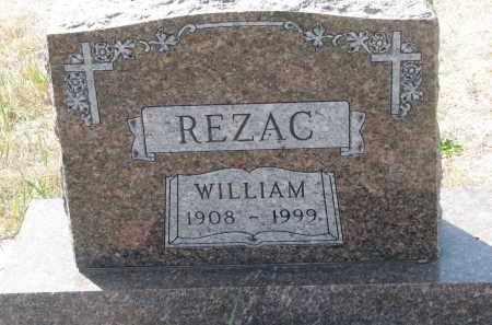 REZAC, WILLIAM - Bon Homme County, South Dakota | WILLIAM REZAC - South Dakota Gravestone Photos