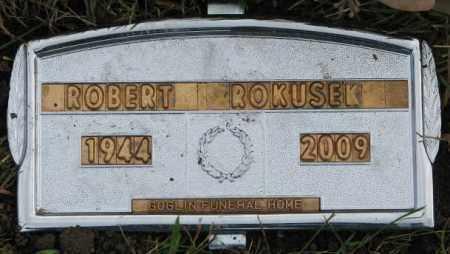 ROKUSEK, ROBERT - Bon Homme County, South Dakota | ROBERT ROKUSEK - South Dakota Gravestone Photos
