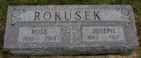 ROKUSEK, JOSEPH - Bon Homme County, South Dakota | JOSEPH ROKUSEK - South Dakota Gravestone Photos