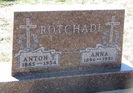 ROTCHADL, ANNA - Bon Homme County, South Dakota | ANNA ROTCHADL - South Dakota Gravestone Photos