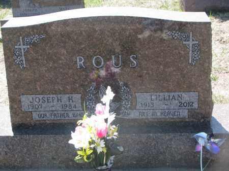 ROUS, JOSEPH H. - Bon Homme County, South Dakota | JOSEPH H. ROUS - South Dakota Gravestone Photos