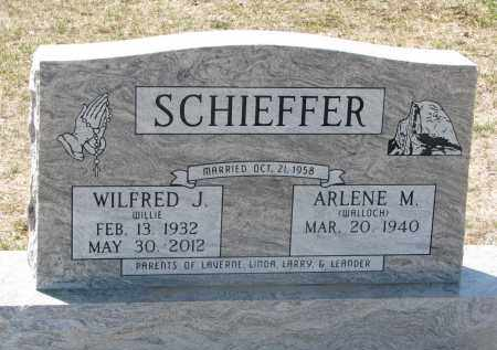 WALLOCH SCHIEFFER, ARLENE M. - Bon Homme County, South Dakota | ARLENE M. WALLOCH SCHIEFFER - South Dakota Gravestone Photos