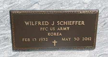 SCHIEFFER, WILFRED J. (MILITARY) - Bon Homme County, South Dakota | WILFRED J. (MILITARY) SCHIEFFER - South Dakota Gravestone Photos