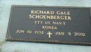 SCHOENBERGER, RICHARD - Bon Homme County, South Dakota | RICHARD SCHOENBERGER - South Dakota Gravestone Photos