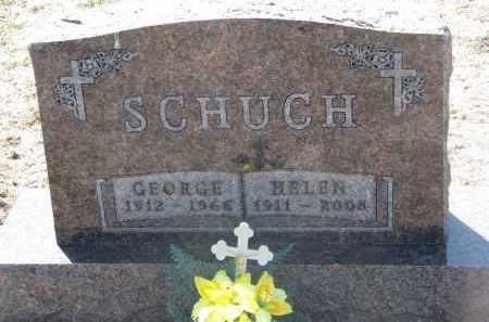 SCHUCH, HELEN - Bon Homme County, South Dakota | HELEN SCHUCH - South Dakota Gravestone Photos