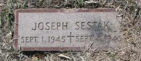 SESTAK, JOSEPH - Bon Homme County, South Dakota | JOSEPH SESTAK - South Dakota Gravestone Photos