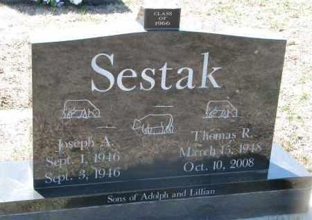 SESTAK, JOSEPH A. - Bon Homme County, South Dakota | JOSEPH A. SESTAK - South Dakota Gravestone Photos