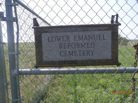 *LOWER EMANUEL REFORMED, ENTRANCE - Bon Homme County, South Dakota | ENTRANCE *LOWER EMANUEL REFORMED - South Dakota Gravestone Photos
