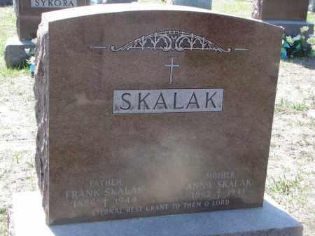 SKALAK, FRANK - Bon Homme County, South Dakota   FRANK SKALAK - South Dakota Gravestone Photos