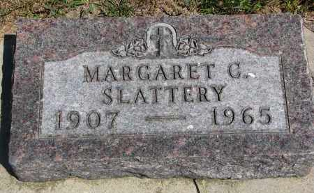 SLATTERY, MARGARET C. - Bon Homme County, South Dakota | MARGARET C. SLATTERY - South Dakota Gravestone Photos