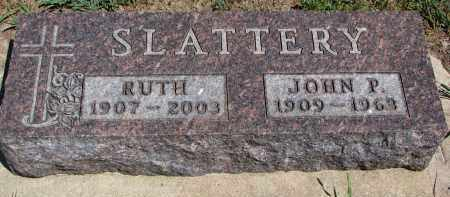 SLATTERY, RUTH - Bon Homme County, South Dakota | RUTH SLATTERY - South Dakota Gravestone Photos
