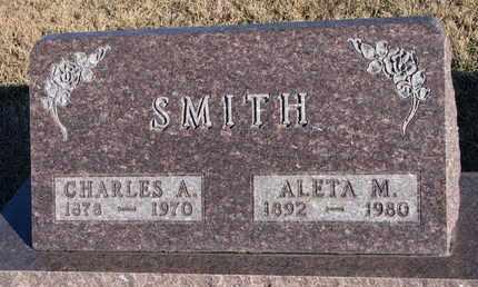 SMITH, ALETA M. - Bon Homme County, South Dakota | ALETA M. SMITH - South Dakota Gravestone Photos