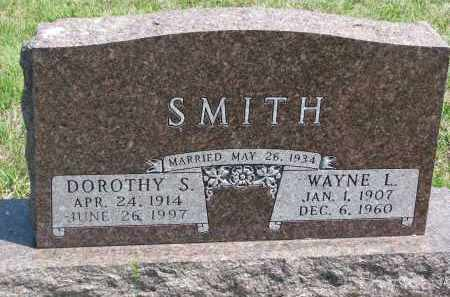 SMITH, WAYNE L. - Bon Homme County, South Dakota | WAYNE L. SMITH - South Dakota Gravestone Photos