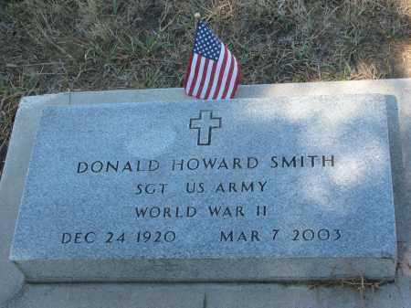 SMITH, DONALD HOWARD - Bon Homme County, South Dakota | DONALD HOWARD SMITH - South Dakota Gravestone Photos