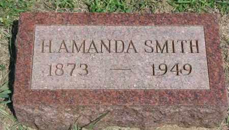SMITH, H. AMANDA - Bon Homme County, South Dakota | H. AMANDA SMITH - South Dakota Gravestone Photos