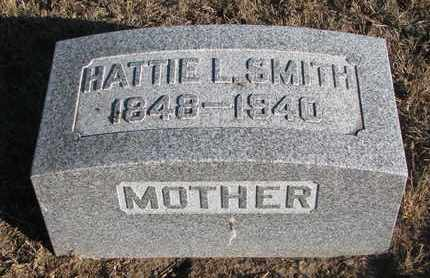 SMITH, HATTIE L. - Bon Homme County, South Dakota | HATTIE L. SMITH - South Dakota Gravestone Photos