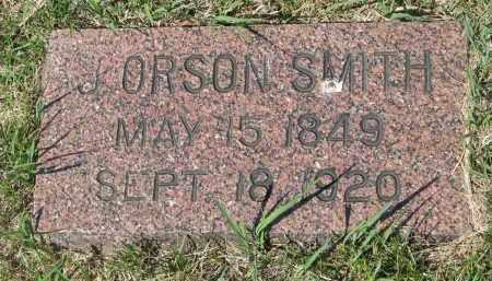 SMITH, J. ORSON - Bon Homme County, South Dakota | J. ORSON SMITH - South Dakota Gravestone Photos