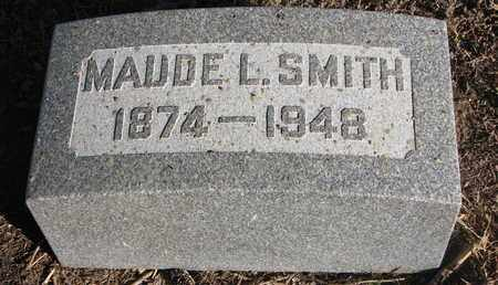 SMITH, MAUDE L. - Bon Homme County, South Dakota | MAUDE L. SMITH - South Dakota Gravestone Photos