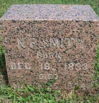 SMITH, N.R. - Bon Homme County, South Dakota   N.R. SMITH - South Dakota Gravestone Photos