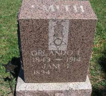 SMITH, JANE E. - Bon Homme County, South Dakota | JANE E. SMITH - South Dakota Gravestone Photos