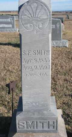SMITH, S.F. - Bon Homme County, South Dakota | S.F. SMITH - South Dakota Gravestone Photos