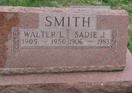 SMITH, SADIE J. - Bon Homme County, South Dakota | SADIE J. SMITH - South Dakota Gravestone Photos